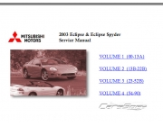 Mitsubishi Eclipse III 2000-2005 Service manual