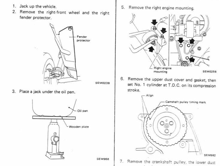 Ремонт автомобиля nissan micra k10 1982-1991 service manual