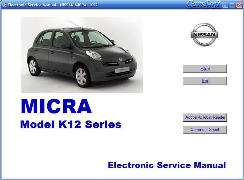 nissan micra k12 2002 2003 service. Black Bedroom Furniture Sets. Home Design Ideas